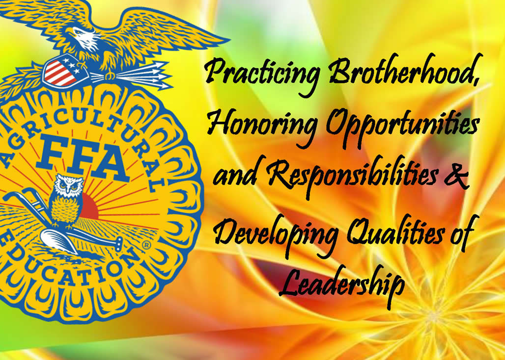 FFA Welcome Page